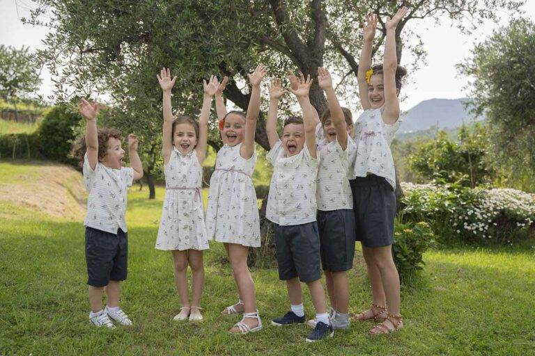 gruppo-bimbi-abiti-estivi-camicia-bermuda-coordinati